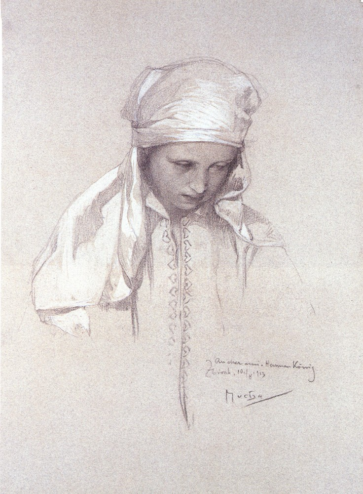 Portrait Of A Girl 1913